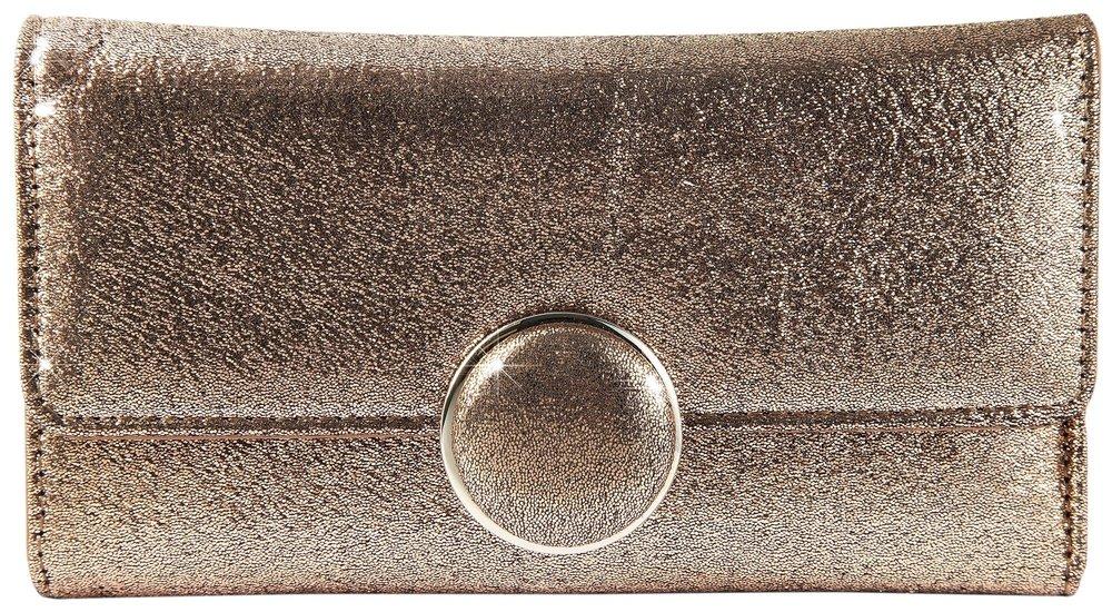 9176f14e464b0 Modische Geldbörse in Kupfer-Metallic